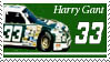 Harry Gant Stamp by nascarstones