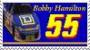 Bobby Hamilton Stamp by nascarstones