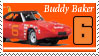 Buddy Baker Stamp by nascarstones