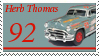 Herb Thomas Stamp by nascarstones