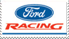Ford Racing Stamp by nascarstones