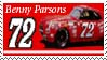 Benny Parsons Stamp by nascarstones