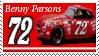 Benny Parsons Stamp by nascarstones