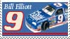 Bill Elliott Throwback Stamp 2 by nascarstones