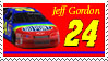 Jeff Gordon Stamp throwback by nascarstones