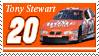 Tony Stewart Stamp Throwback by nascarstones