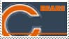 Chicago Bears Stamp by nascarstones