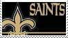 New Orleans Saints Stamp by nascarstones