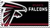 Atlanta Falcons Stamp by nascarstones