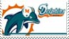 Miami Dolphins Stamp by nascarstones