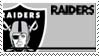 Oakland Raiders Stamp by nascarstones