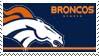 Denver Broncos Stamp by nascarstones