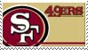 San Francisco 49ers Stamp by nascarstones