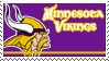 Minnesota Vikings Stamp by nascarstones