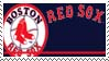 Boston Red Sox Stamp by nascarstones