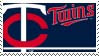 Minnesota Twins Stamp by nascarstones