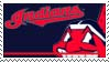 Cleveland Indians Stamp by nascarstones
