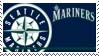 Seattle Mariners Stamp by nascarstones