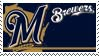 Milwaukee Brewers Stamp by nascarstones