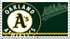 Oakland Athletics Stamp by nascarstones