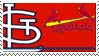 St. Louis Cardinals Stamp by nascarstones