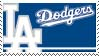 Los Angeles Dodgers Stamp by nascarstones