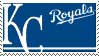 Kansas City Royals Stamp by nascarstones