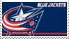 Columbus Blue Jackets Stamp by nascarstones