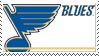 St. Louis Blues Stamp by nascarstones