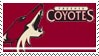 Phenoix Coyotes Stamp by nascarstones