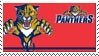 Florida Panthers Stamp by nascarstones