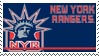 New York Rangers Stamp by nascarstones