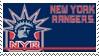 New York Rangers Stamp by nascarstones