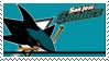 San Jose Sharks Stamp by nascarstones