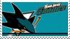 San Jose Sharks Stamp by nascarstones