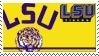 Louisiana State Stamp by nascarstones
