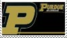 Purdue Stamp by nascarstones