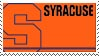 Syracuse Stamp by nascarstones