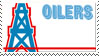 Houston-Tennessee Oilers Stamp by nascarstones