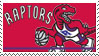 Toronto Raptors Stamp by nascarstones