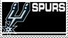 San Antonio Spurs Stamp by nascarstones