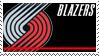 Portland Trail Blazers Stamp by nascarstones