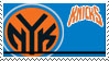 New York Knicks Stamp by nascarstones
