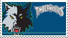 Minnesota Timberwolves Stamp by nascarstones