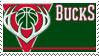 Milwaukee Bucks Stamp by nascarstones