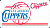 Los Angeles Clippers Stamp by nascarstones