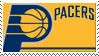 Indiana Pacers Stamp by nascarstones
