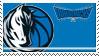 Dallas Mavericks Stamp by nascarstones
