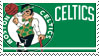 Boston Celtics Stamp by nascarstones