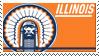 Illinois Stamp by nascarstones